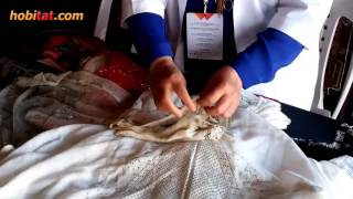 getlinkyoutube.com-Gümüş tel kırma sanatı... Sanatçı: Sümeyra Çelik