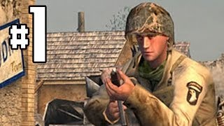 getlinkyoutube.com-Call Of Duty: Classic Gameplay Walkthrough Part 1 - Camp Toccoa & Pathfinder