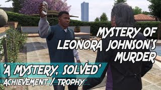 GTA 5 - The Mystery of Leonora Johnson's Murder ¦ Mission: A Starlet in Vinewood [HD]