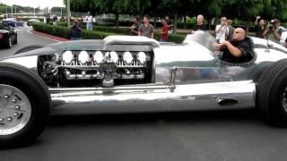 getlinkyoutube.com-Beastly Tank Engine Car at Cars and Coffee in Irvine