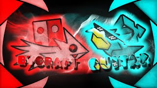 BYCRAFT VS GUITARHEROSTYLES! DUELO EN GEOMETRY DASH! - Bycraftxx