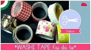getlinkyoutube.com-Tutorial come fare il WASHI TAPE (nastro adesivo decorato) fai da te - Idea pacchetti regalo