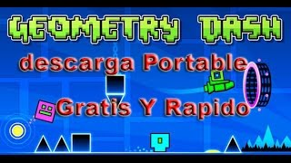 getlinkyoutube.com-Como Descargar Geometry dash Para Pc Facil y Rapido (Portable) 2015
