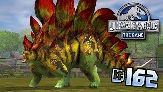 getlinkyoutube.com-Stegosaurus Is Back!! || Jurassic World - The Game - Ep 162 HD