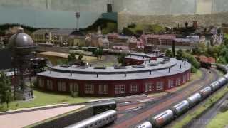 getlinkyoutube.com-H0 Scale Model Railway Layout by Marklin