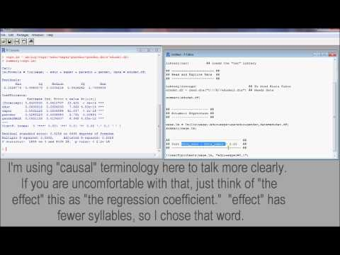 R6. Testing Multiple Linear Hypotheses (Econometrics in R)