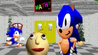 Sonic Baldi's Basics in Education and Learning (Sonic Mod)