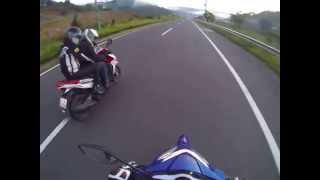 getlinkyoutube.com-Yamaha Exciter 135 vs Honda Click 125
