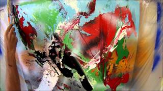 Learn To Paint Abstract Painting While Searching For Direction (HD). By Jan van Oort