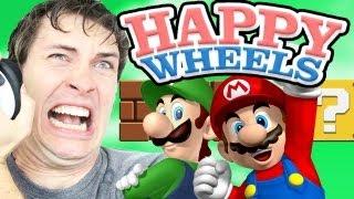 getlinkyoutube.com-SUPER MARIO BROS - Happy Wheels