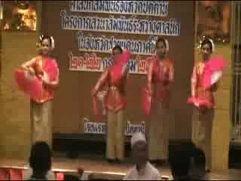 ระบำตารีกีปัส Suwannakorn Folk Dance 05 (Tarikipas)