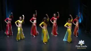 "getlinkyoutube.com-""Shaabi Fever"" Shaabi Style fusion Belly Dance by Fleur Estelle Dance Company (Summer Showcase 2016)"