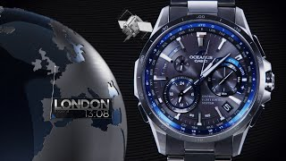 getlinkyoutube.com-CASIO OCEANUS OCW-G1000 Promotion video(Functional video)