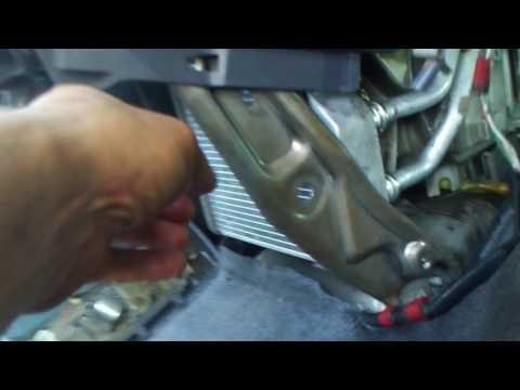 Замена радиатора печки на Тойота Ипсум