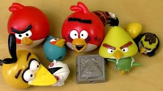 getlinkyoutube.com-Angry Birds MASH'EMS KNEX STAR WARS 1+2