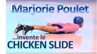 "getlinkyoutube.com-MARJORIE POULET - ""Le chicken slide"""