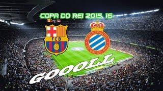 getlinkyoutube.com-Gols Barcelona Versus Espanyol 06/01/2016