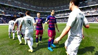 getlinkyoutube.com-FIFA 16 - Real Madrid vs Barcelona (FIFA 2016 PC Full Gameplay)