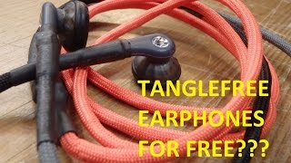 getlinkyoutube.com-HOW TO - Build your own professional tanglefree PARACORD earphones / headphones for free