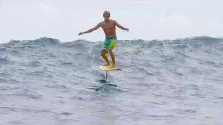 getlinkyoutube.com-Kai Lenny Hydrofoil Surfing