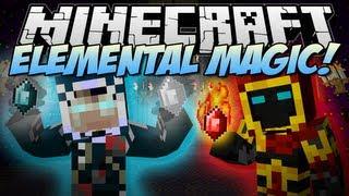 getlinkyoutube.com-Minecraft | ELEMENTAL MAGIC! (Play with Fire, Ice & More!) | Mod Showcase [1.6.2]