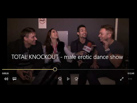 DMC TV i TOTAL KNOCKOUT   male erotic dance show