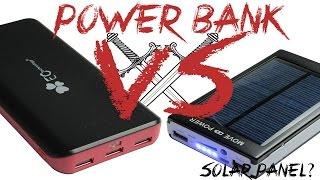 getlinkyoutube.com-Power Bank: 22400mAh VS Solar 50000mAh