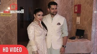 Aftab Shivdasani With Wife Nin Dusanj At Ramesh Taurani's Diwali Party 2017