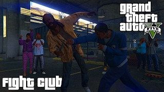 getlinkyoutube.com-Fight Club การต่อสู้ของคนจริง ต่อยได้นะเสื้อผ้าไม่ต้อง GTA V