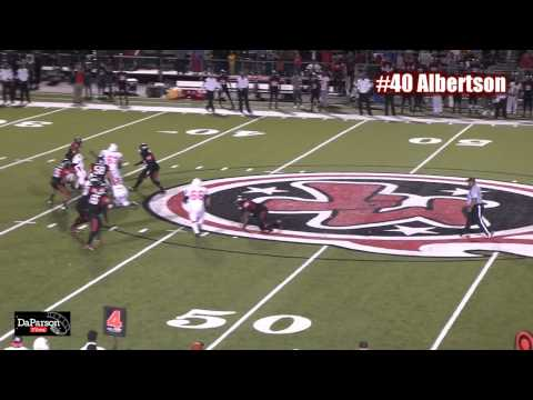 Lane Albertson - 2012 Highlight Film - La Porte Bulldogs - Class of 2014
