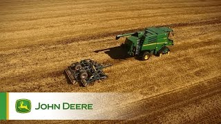 John Deere T670  Combine ProDrive Tracks