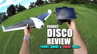 getlinkyoutube.com-PARROT DISCO Review - [Flight/Crash/Range Test!, Pros & Cons]