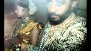 getlinkyoutube.com-Aishwarya rai   Abhishek wedding pics.flv