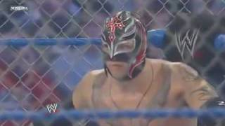 getlinkyoutube.com-Wwe SmackDown Rey Mysterio vs Batista (2010) 1/2