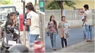 Aapke boobs dikh rahe hai ! | Public (Comments) Trolling | Pranks In India 2017 | Navneet Bhardwaj