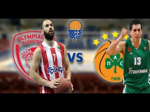 Olympiakos - Panathinaikos (04-02-2013) Greek A1 Basket
