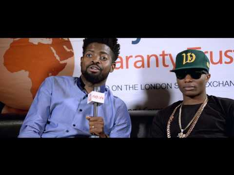 Basketmouth and Wizkid February 14th Press Conference @basket_mouth @wizkidayo