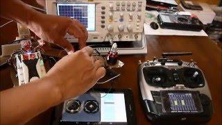 RadioLink AT9 & RX R9D : SBUS TEST 10CH