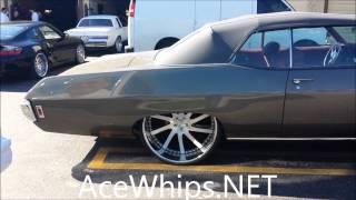 "AceWhips.NET- 1969 Chevy Impala SS Vert on 26"" COR by WTW Customs"