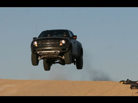 Vaughn Gittin Jr. Takes the Ford SVT Raptor to a CORR Track