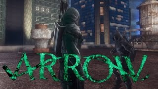 getlinkyoutube.com-[DCUO] : Team Flarrow - Arrow S05E09 - Green Arrow vs Prometheus
