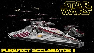 Star Wars Space Engineers - Republic Star Destroyer Pre-Cursor - Acclamator I
