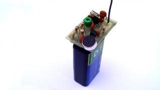 getlinkyoutube.com-How to build a 2 transistor FM transmitter.Long and short range.