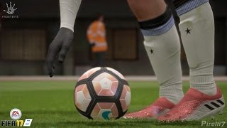 getlinkyoutube.com-FIFA 17:  New Leo Messi Boots |MESSI 16+ PUREAGILITY Firm Ground| 60fps - by Pirelli7