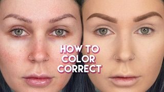How to Color Correct & Cover Dark Circles | KristenLeanneStyle