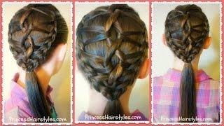 getlinkyoutube.com-DNA Braid Hairstyle Tutorial