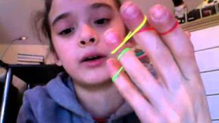 getlinkyoutube.com-How to make dragon scale bracelet on your fingers