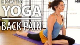 getlinkyoutube.com-Yoga For Back Pain - 30 Minute Back Stretch, Sciatica Pain, & Flexibility Yoga Flow