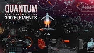 getlinkyoutube.com-After Effects Template : Quantum HUD Infographic