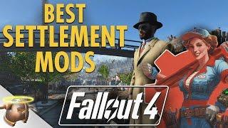 getlinkyoutube.com-The best Fallout 4 SETTLEMENT MODS!